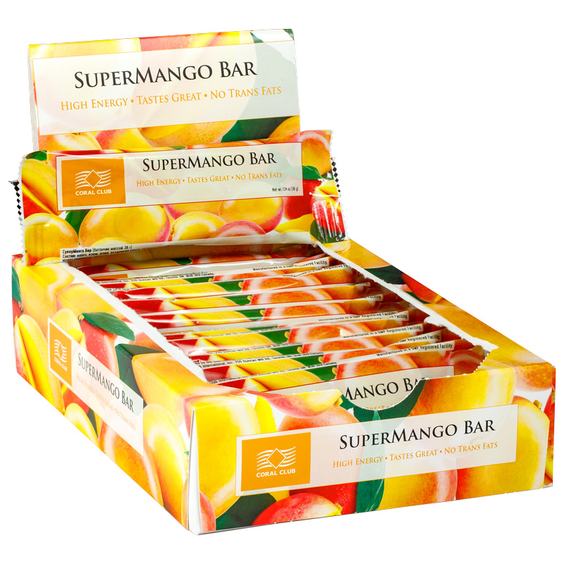 Buy SuperMango Bar, box of 12