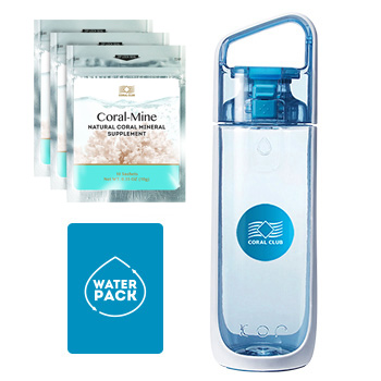 Buy Water Pack, blue bottle