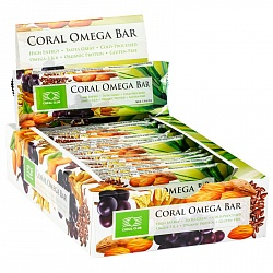 Coral Omega Bar, box of 12