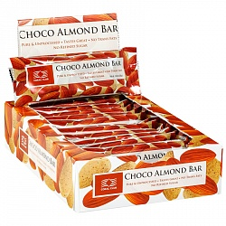 Choco Almond Bar, box of 12