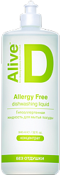Alive D allergy free dishwashing liquid