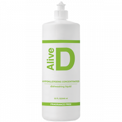 Alive D Hypoallergenic concentrated dishwashing liquid