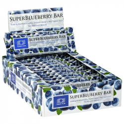 SuperBlueberry Bar, box of 12