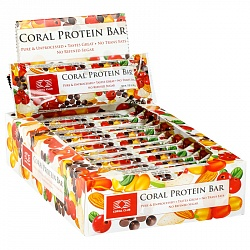 Coral Protein bar, box of 12