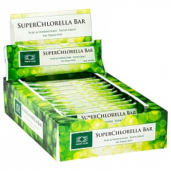 SuperChlorella Bar, box of 12
